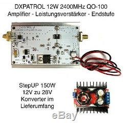 12W 2400MHz Es´Hail Sat QO-100 PA Amplifier Leistungsverstärker Endstufe