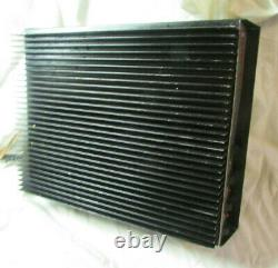 1 X 8 LINEAR AMPLIFIER w ORIG. TOSHIBA 2SC2879's 8 MATCHED 4A's with HEAVY SINK