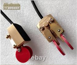 2020 Pure Copper Ham radio HF Morse Code Telegraph CW Automatic Key keyer