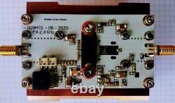 2,4GHz QO-100 Es´Hail PA Amplifier, inp 10dBm out 40dBm, max out 43dBm