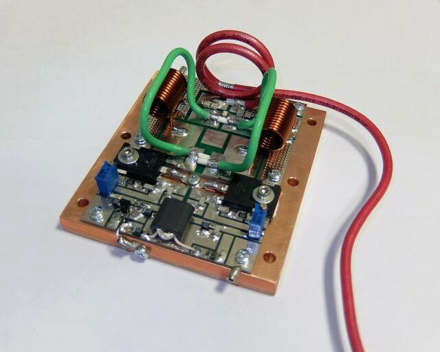 2 Meters 144 148 Mhz Amplifier Mrf300 500w