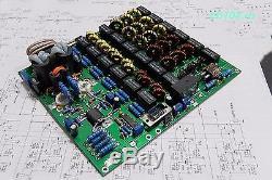 300W amplifier in 10W 1.8-54MHz SDR Hermes ANAN, FLEX-1500 LPF CWithSSB