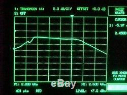 30W Class A Linear RF amplifier 2.3-2.45 GHz 2304 ATV +