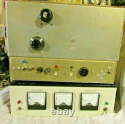 3-400z HOME BREW LINEAR AMPLIFIER 10-11 METERS 2 PIECE THROWING IN 4-400A TUBE