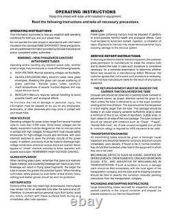 3-500ZG/3-500Z RF Parts SELECT Transmit Tube One Year Warranty