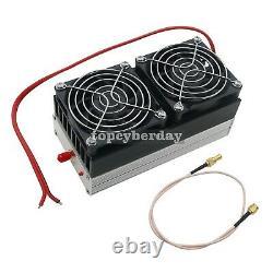 400MHz-470MHz 80W UHF FM Ham Radio Power Amplifier for Interphone Car 12-14V