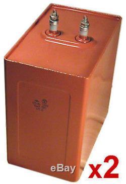 40uF 7kV / 5kV High Voltage Pulse Power Capacitor. New! Lot of 2pcs