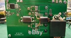 50W HF 50 MHz PA, 50 watts 13.5v HF amplifier for HAM radio, CW SSB FT8