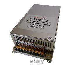 50 Amp Continuous 10-14 Volt Power Supply For LED Lighting 12 Real MegaWatt