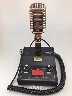 6 Pin President Mckinley Gold Delta M2 Amplified Power Base Microphone Cb MIC
