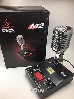 6 pin RANGER RCI2950 DELTA M2 AMPLIFIED POWER BASE MICROPHONE CB HAM LOUD MIC