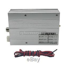 80W AMP DMR DPM RP25 C4FM UHF 400-470MHZ Ham Radio Power Amplifier Interphone