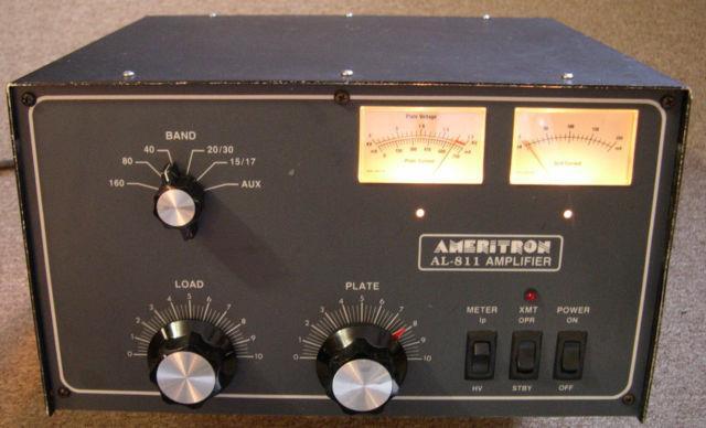 Ameritron Al-811 Hf Amateur Radio 600w. Linear Power Amplifier