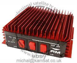 AMPLIFIER W PREAMP KL200 P R. M. MOD 20-30 Mhz 100W 200W CB RADIO SSB HAM