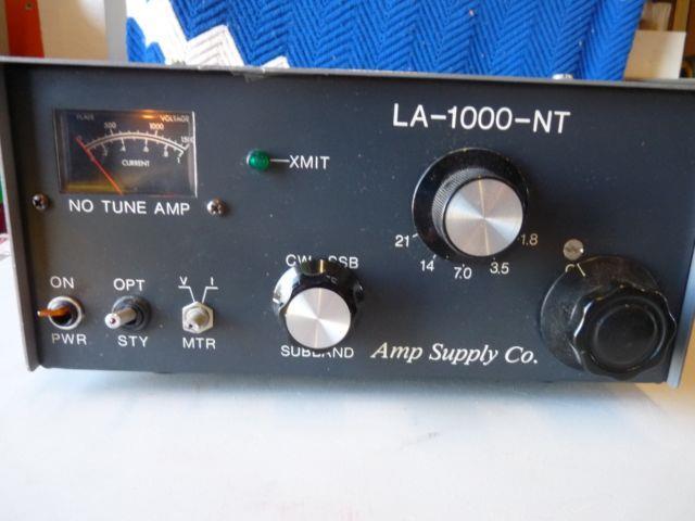 Amp Supply Co Mode La-1000-nt Amplifier