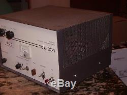 A Vintage D&a Mdx-200 Linear Amplifier
