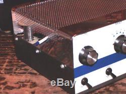 A Vintage Palomar 300a Chrome Top Linear Amplifier