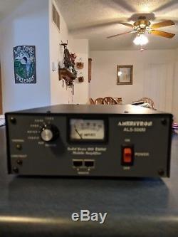 Ameritron ALS-500M HF Amplifier Solid State Ham Radio