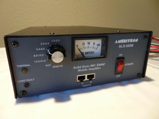 Ameritron Als-500m Solid State Mobile Amplifier With 10 Meter Board Installed