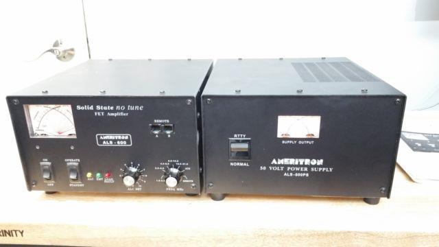 Ameritron Als-600 Hf Linear Amplifier 10 Meter Board $499 C My Other Ham Radio
