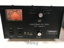 Ameritron ALS-600 Solid State FET Amplifier and 600 Power Supply with 10 Meter Mod