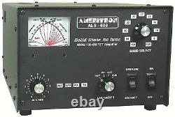 Ameritron ALS-606S 600W 160-6M Solid State Amp with ALS-600SPS Switching PSU