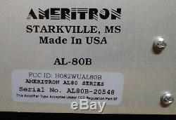 Ameritron AL-80B HF Power Amplifier (PreOwned)
