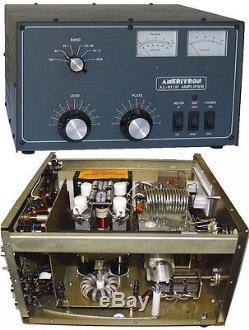 Ameritron AL-811H 800W HF Amplifier 4 x 811A Tubes, 120V