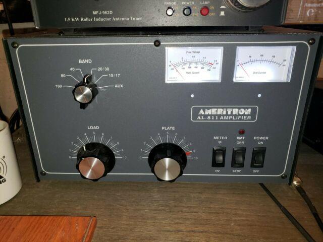 Ameritron Al-811 600 Watt Hf Amplifier With 5 Backup Taylor 811a Tubes