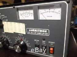 Ameritron Al-811h Works See Description