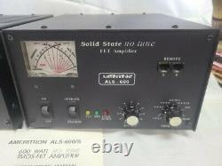 Ameritron Als-600 Ham Hf Power Amplifier Kit Als600 With Manual