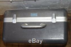 Ampex TC-10 FM Calibration Tape Recorder Reel MM-1100 Ham Radio Amplifier Analog