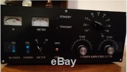 Amplificatore radio hf lineare power zz-750 valvolare 20w in 800w out come nuovo