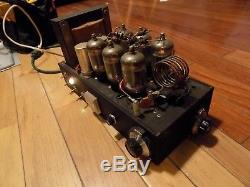 Amplifier ham radio powers up