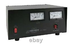 Astron RS-35M-AP Table Top 35 Amp Regulated DC Power Supply with Dual Meters