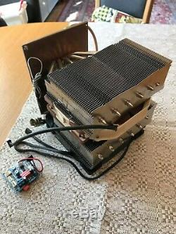 BLF188XR assembled power amplifier module. HF + 6M 1kW amplifier. With cooling