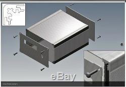 BOX for VHF/HF power amplifier 1200W full KIT