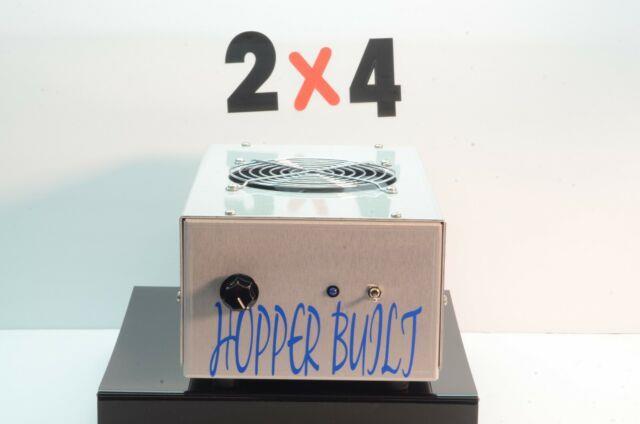 Brand New 2x4 Hopper Built Cw Amplifier 2879s Transistors With Fan 1000 Watt