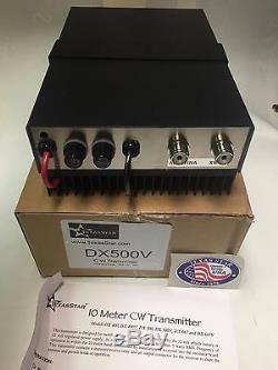 BRAND NEW TEXAS STAR DX-500V 2879 transistors CW AMPLIFIER Amp