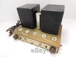 Bigg of California George Gott G50D Monoblock Amplifier for Parts / Restoration