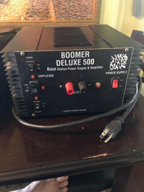Boomer Deluxe 500 Amplifier Base Station Power Supply