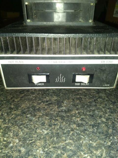 Cb Radio Texas Star Dx1200 Linear Amplifier 10m 8x2290 Transistors Last Chance