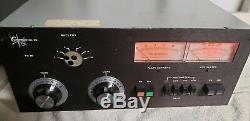 Chemagnetic Rf Linear Tube Amplifier Amp Ham Radio Eto Alpha 76a Eichorn Ssw Cw