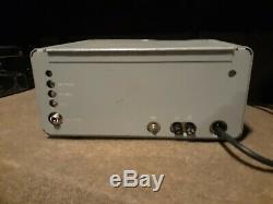 Collins 30L-1 Winged emblem amplifier Svetlana tubes, caps, diodes, bias done