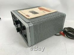 Collins Ham Radio Linear Amplifier 30L-1 With Manual