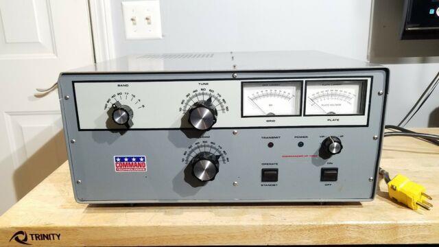 Command Technologies Commander Hf-1250 Hf Linear Amp Amplifier Ham Radio