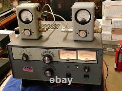 Command Technologies HF-2500 3CX800 Tube Ham Radio Amplifier (works beautifully)