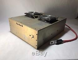 DAVE MADE BOX LINEAR with New Circuit Board for 8 transistors CW AMPLIFIER Amp