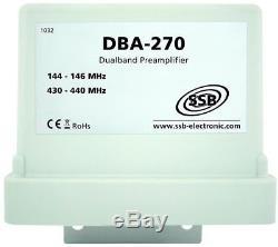 DBA 270 Dual band pre amplifier 2m 70cm 144-146 430-440