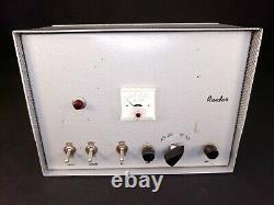 D&A Raider Linear Power Transmitter Tube Amplifier HAM CB Recapped TESTED